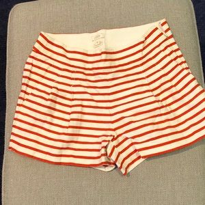 J. Crew striped shorts